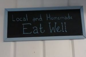 Local and Homemade. Eat Well.